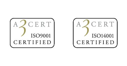Lenanders ISO-certifikationer